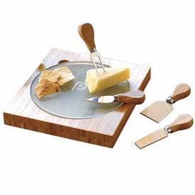 Fontina Bamboo Cheese Board