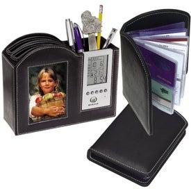 Frame/Clock/Desk Organizer