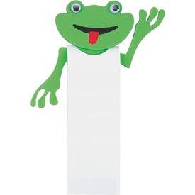 Custom Fredrick Frog Bookmark
