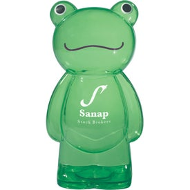 Frugal Frog Bank Branded with Your Logo