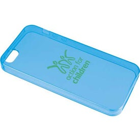 Gel Case for iPhone 5 with Your Slogan