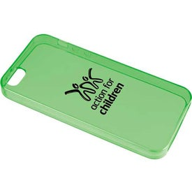 Gel Case for iPhone 5 Imprinted with Your Logo
