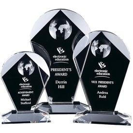 "Geodesic Award (6.5"" x 10.5"" x 2.25"")"