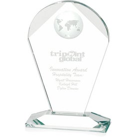 "Geodesic Award (5.5"" x 8.5"" x 2.25"")"