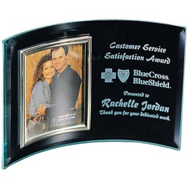 Glass Awards (Vertical 7 x 5 Photo Display - Large)