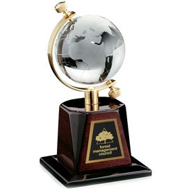 Globe Award with Your Logo