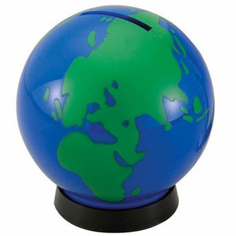 Blue with Green Continents