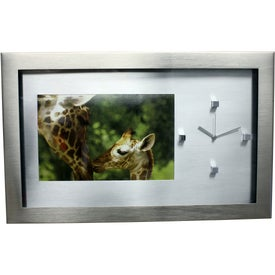Personalized Guerrero Photo Frame and Clock
