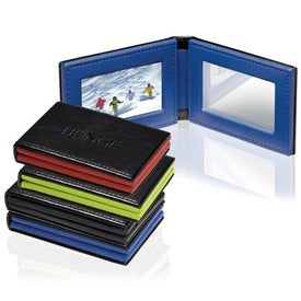 Hampton Pocket Folding Frame/Mirror with Your Slogan