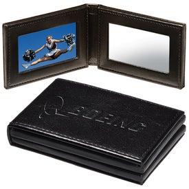 Hampton Pocket Folding Frame/Mirror for Your Organization