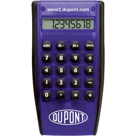 Hand Held Pocket Calculator Imprinted with Your Logo