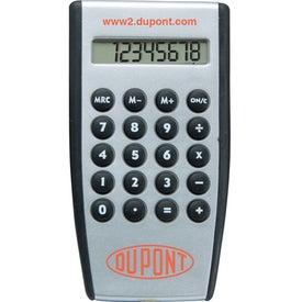 Monogrammed Hand Held Pocket Calculator