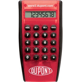 Imprinted Hand Held Pocket Calculator
