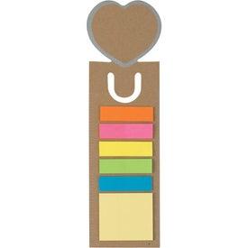 Promotional Heart Shape Bookmark