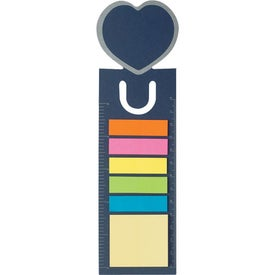 Logo Heart Shape Bookmark