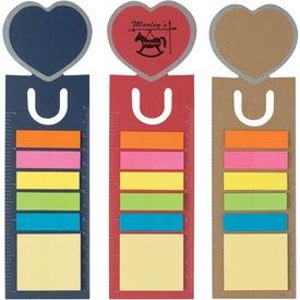 Heart Shape Bookmark Giveaways