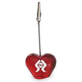 Heart Clip Memo Holder