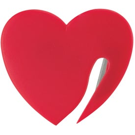 Promotional Heart Letter Opener with Your Logo