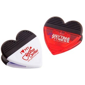Heart Magnetic Fridge Office Clip