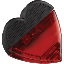 Heart Magnetic Memo Clip for Advertising