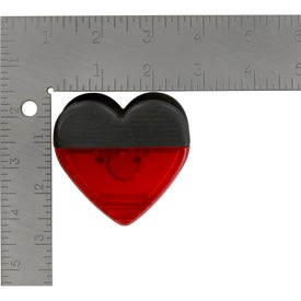 Heart Shape Clip Imprinted with Your Logo
