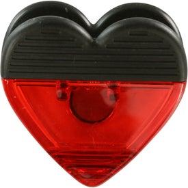 Heart Shape Clip for Advertising