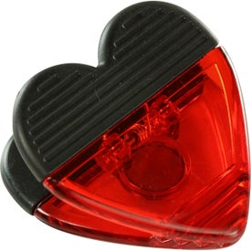 Custom Heart Shape Clip