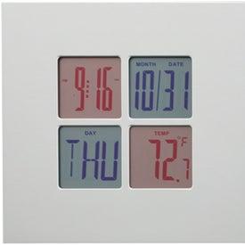 Advertising Helice Digital Clock