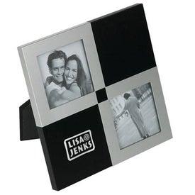Helice Noir Photo Frame