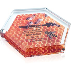 Hex Paperweight