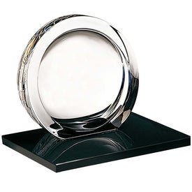 High Tech Award on Ebonite Base Branded with Your Logo