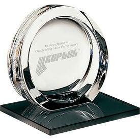 High Tech Award on Ebonite Base for Your Company