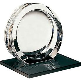 Monogrammed High Tech Award on Ebonite Base