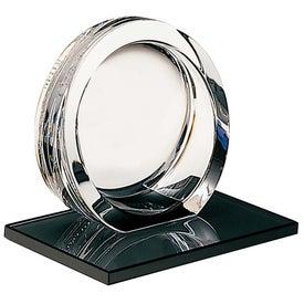 High Tech Award on Ebonite Base Imprinted with Your Logo