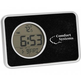 Home and Away Clock with Your Logo