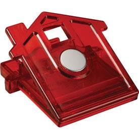Imprinted Home Sweet Home Memo Clip