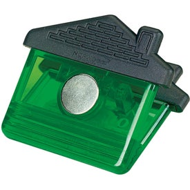 House Clip Magnet Branded with Your Logo