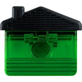 Customized Custom House Magnet Clip