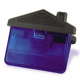 Imprinted Promotional House Magnetic Clip