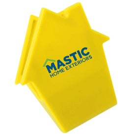 Personalized House Mega Magnet Clip