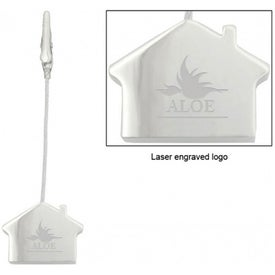 Monogrammed House Note Clip