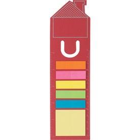 Monogrammed House Shape Bookmark