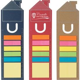 Promotional House Shape Bookmark