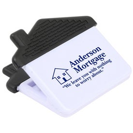 Advertising House and Home Power Clip