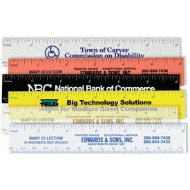 "Ideal Pocket Ruler (6"")"