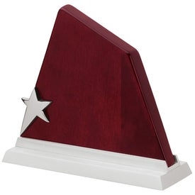 Illusione I Star On Wood Award (Small)
