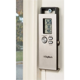 Indoor/Outdoor Thermometer Imprinted with Your Logo