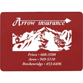 Advertising Single Pocket Insurance Card Holder