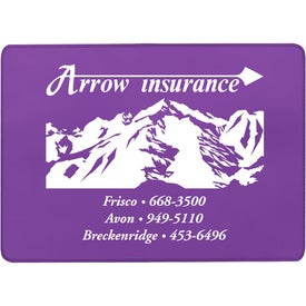 Personalized Single Pocket Insurance Card Holder