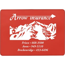 Single Pocket Insurance Card Holder (Translucent)